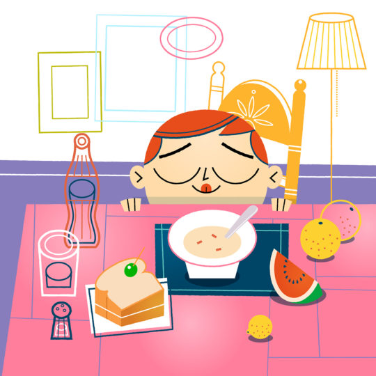 Animation: Happy Mealtime!