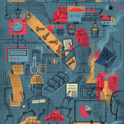 Editorial Illustration: Automatization