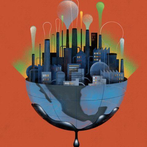 Polluting Economy